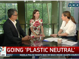 """ABS-CBN News: """"Companies big and small urged to go plastic neutral"""""""