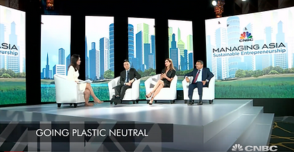 """CNBC International: """"Creative solutions to sustainability challenge"""""""