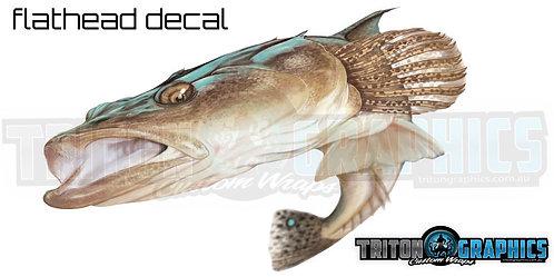 Flathead Decal