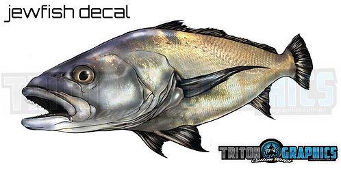 Jewfish Decal