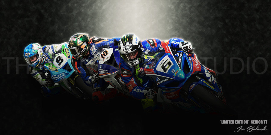 """LIMITED EDITION """"TT RACE MONTAGE 3"""""""