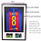 Thumbnail: Adult Black 3-D Sport Shirt Frame With Mount & Pictures