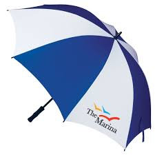 Premium Supersize Blue Umbrella - Size 60""