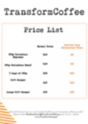TransformCoffee Price list .png