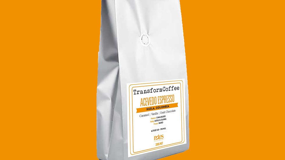 Acevedo Espresso Beans 200G
