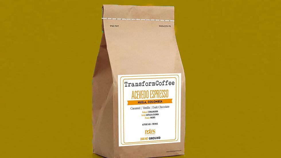 Acevedo Espresso Ground 200g
