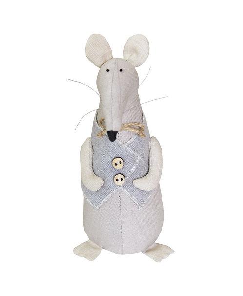 Mysz chlopak dziecko rękodzieło artystyczne handmade