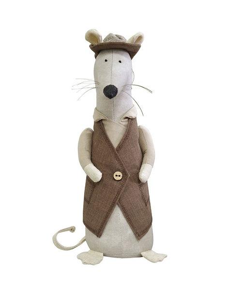Mysz chlopak rękodzieło artystyczne handmade