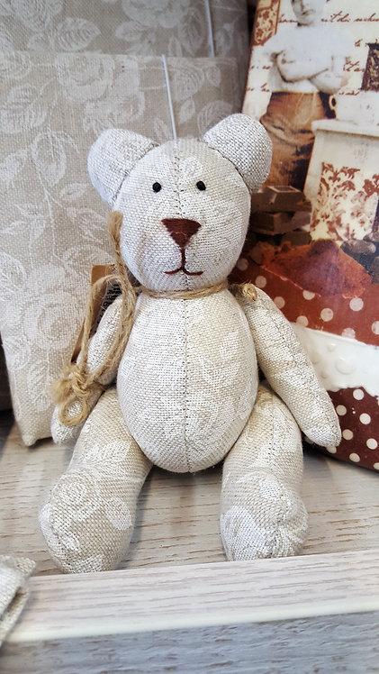 Miś Teddy White Rose 14 cm.