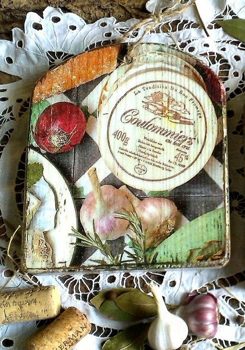 Dekoracyjna deska do krojenia ( Hand Made)