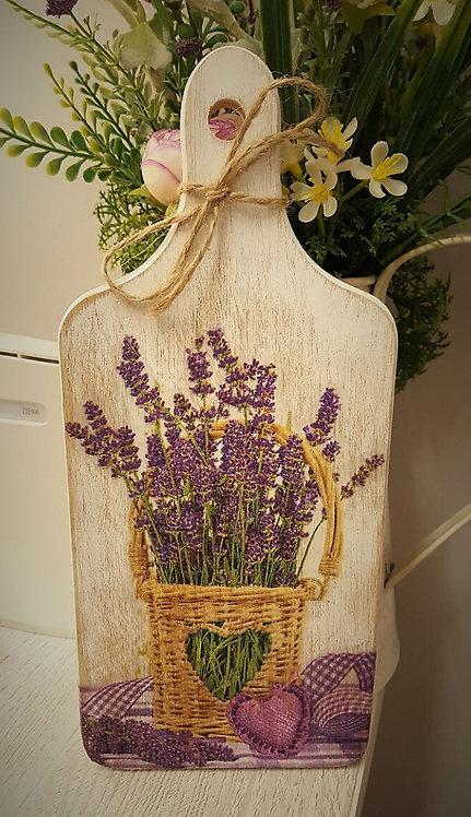 Dekoracyjna deska do krojenia lavender box