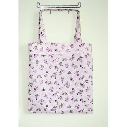 Torebka tekstylna Lilac Rose