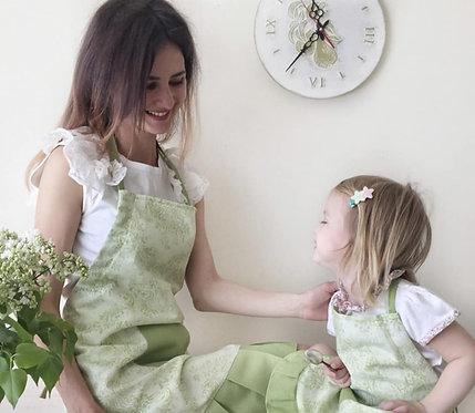 Fartuszek kuchenny Vintage Green