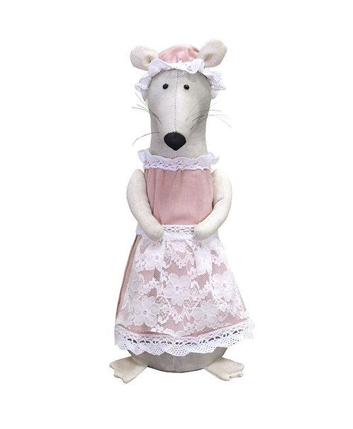 Myszka rękodzieło artystyczne handmade