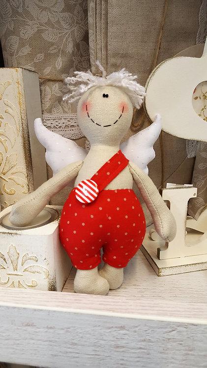 Lalka Anioł rękodzieło handmade
