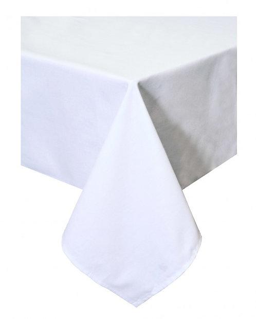 Obrus Biały bawełniany gładki