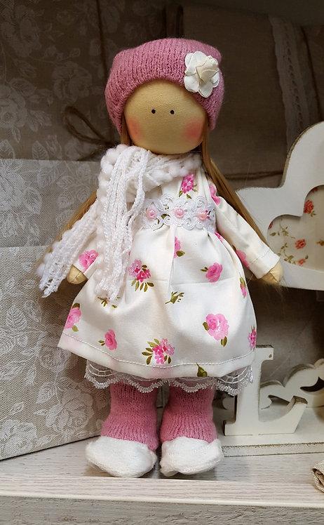 Laleczka, lalka Tykwogołowka (rękodzieło)
