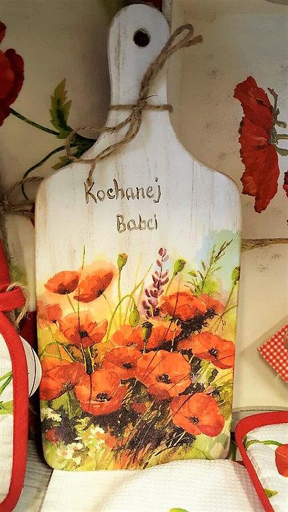 Dekoracyjna deska do krojenia Maki dla Babci