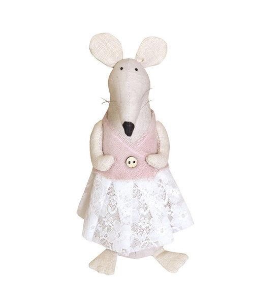 Myszka dziecko rękodzieło artystyczne handmade