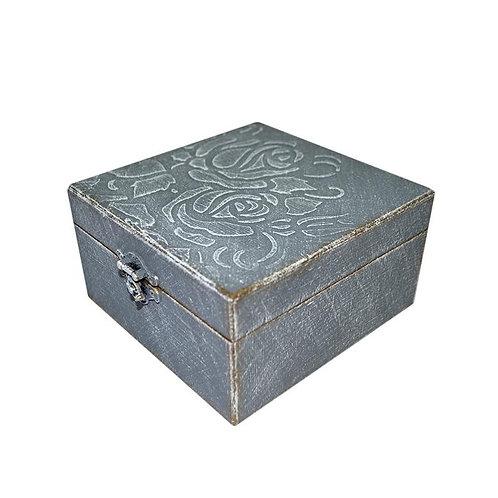 Pudełko drewniane Grey