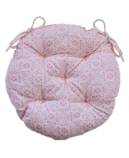 Siedzisko Bella różowe okrągłe