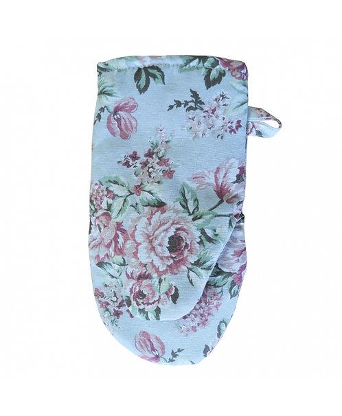 Rękawiczka niebieska róża