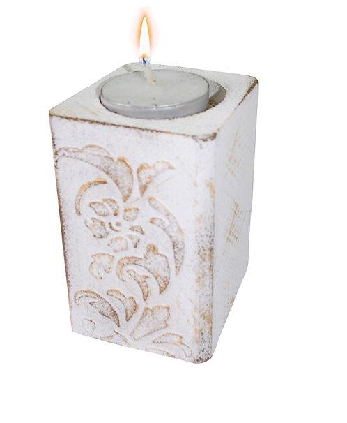Świecznik White 10 cm.