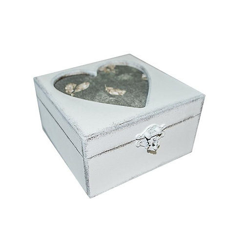 Pudełko drewniane Heart
