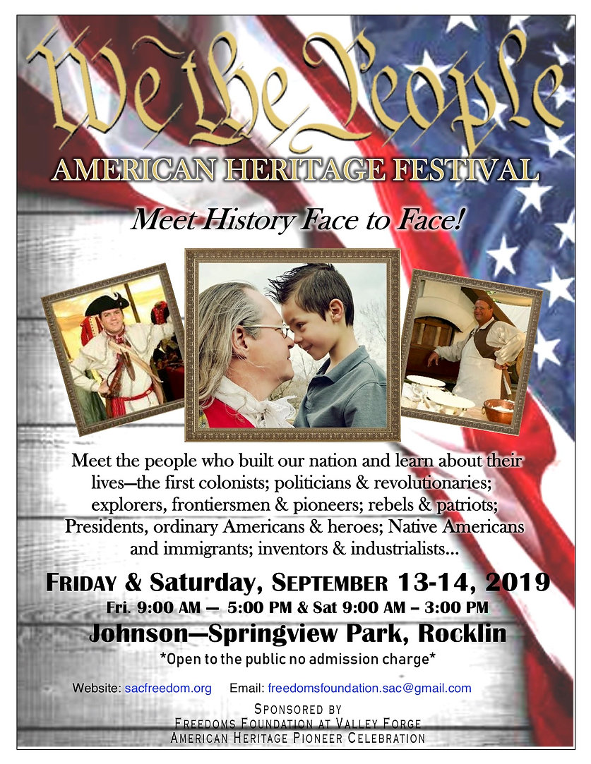 Flyer - American Heritage Festival - 612