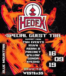 INVICTA X WESTBASS - HEDEX + SPECIAL GUEST