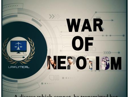 WAR OF NEPOTISM