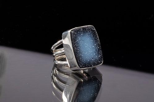 Gorgeous Drusy Quartz ring