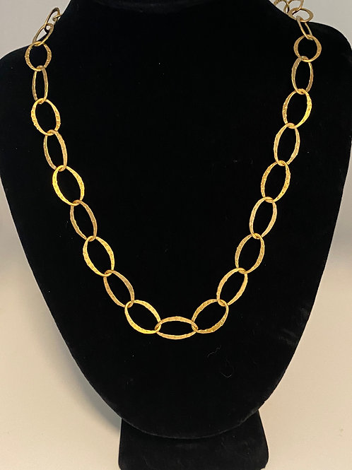 Gold chain - Oval