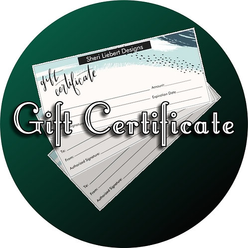 $100 Gift Certifcate