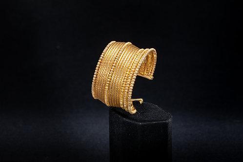 Gold Vermeil Cuff Bracelet
