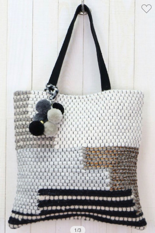 Woven Large Tote