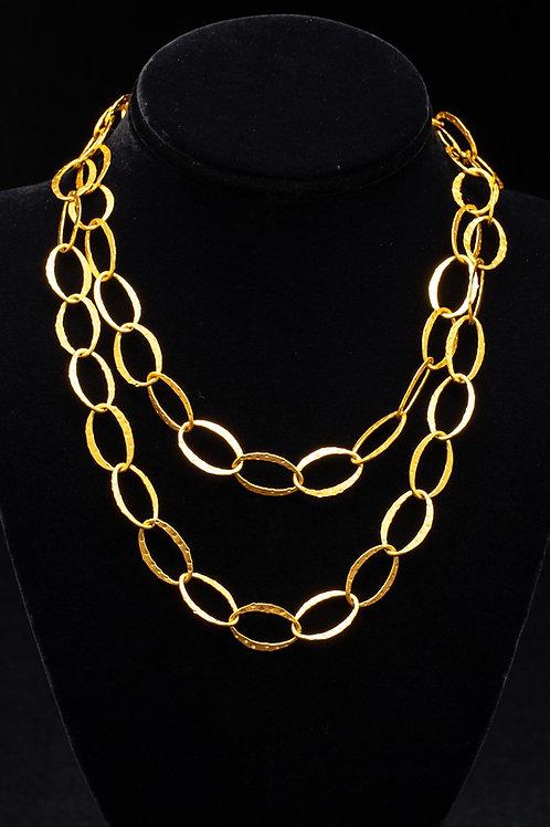 Gold Vermeil Long Necklace
