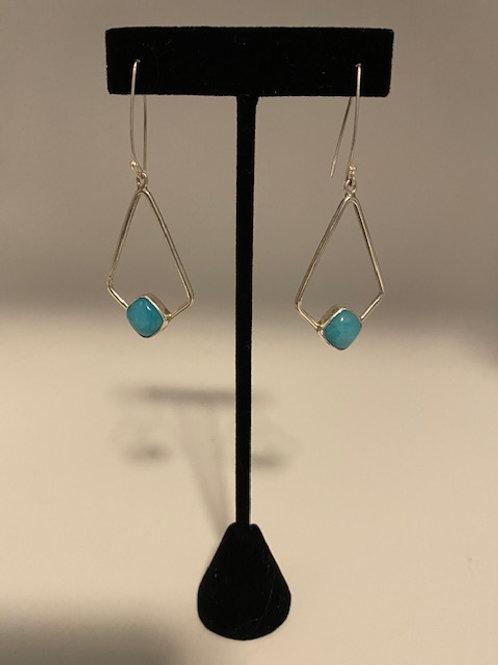 Amazonite earring