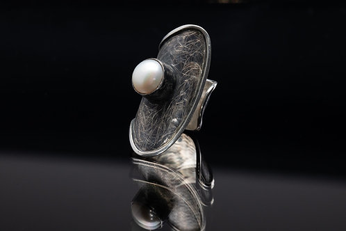 Pearl Wrapped Ring