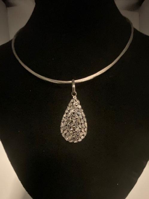 copy of Sliced diamond on chain