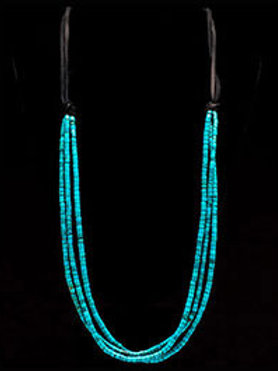 Kingman Turquoise Strand Necklace