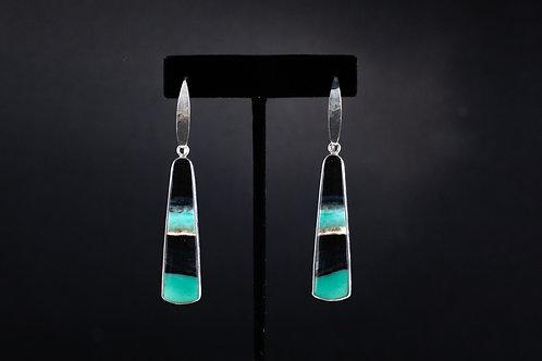 Petrified Opal Wood Earrings