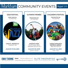 Community Events #01