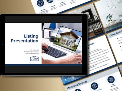 Listing Presentation: 1A Template