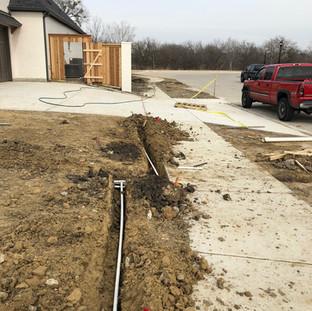 Residential Sprinkler Installation
