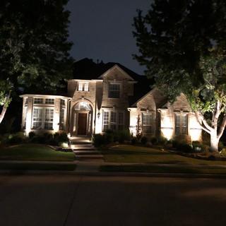 Landscape Lighting Install