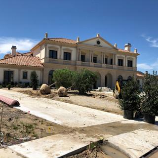 Landscape Install - New construction