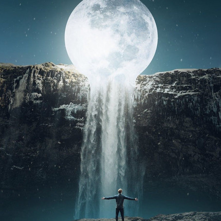Illumination    July 2021 Full Moon in Aquarius
