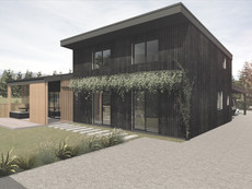 The Hawea Grove is residential project with focus on Sustainability
