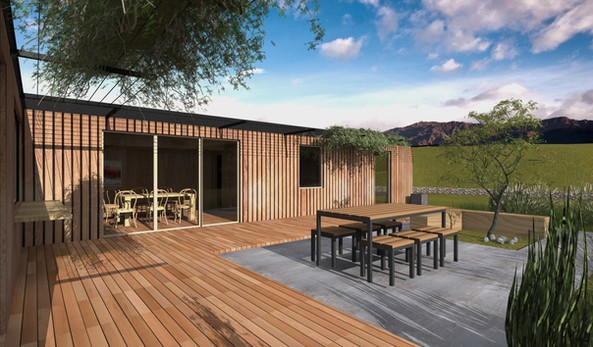 Kurow, Otago Container Residential House Project